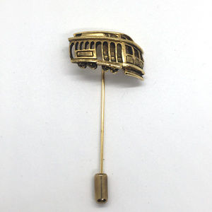 Vintage Cable Car Stick Pin